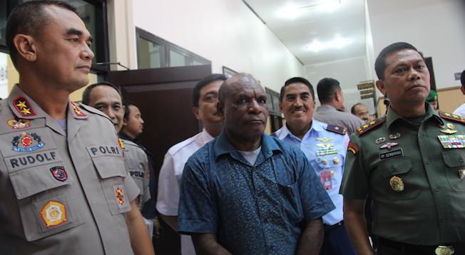 Pesan Menyejukkan Gubernur, Dinginkan Masyarakat Papua